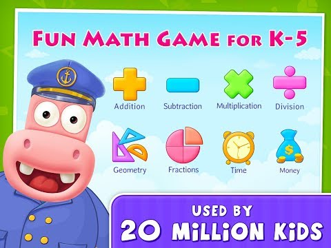 K-5 Fun Learning Splash Math Games for Kindergarten to 5th Grade Kids