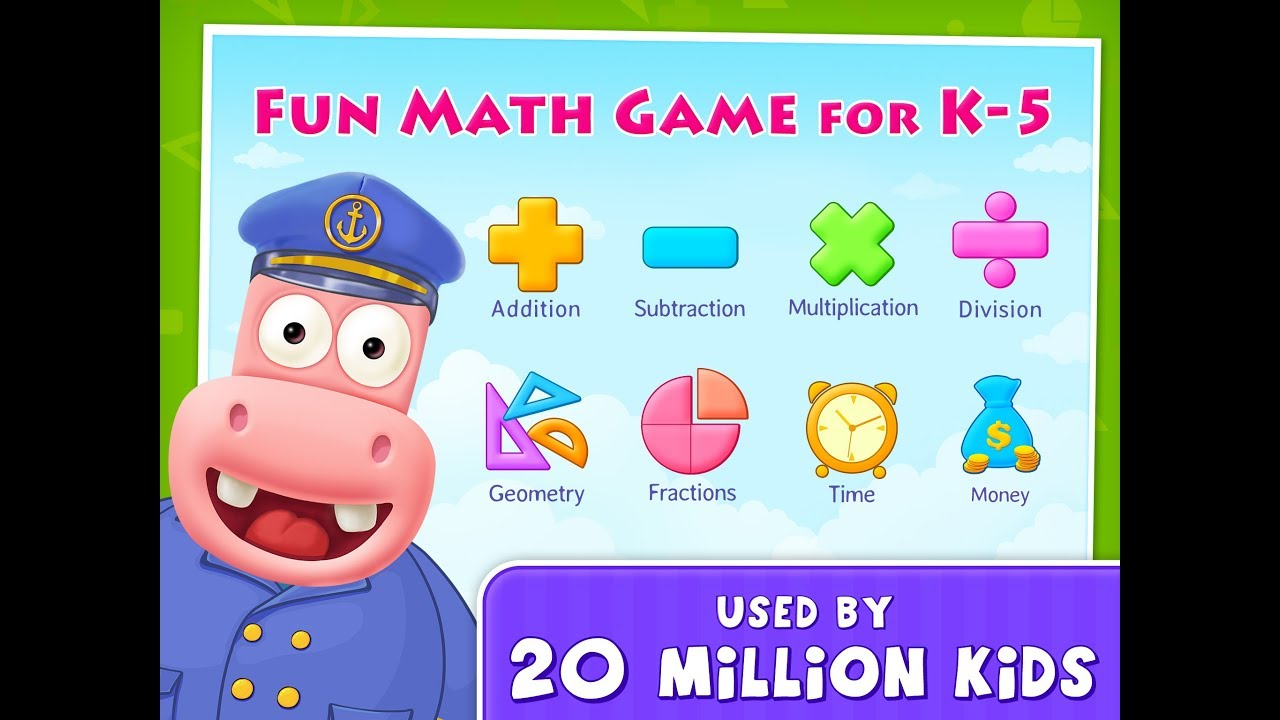 K-5 Fun Learning Splash Math Games for Kindergarten to 5th Grade ...