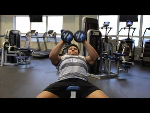 tutorial incline bench close grip dumbbell press youtube