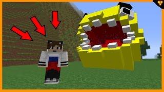 Jak přivolat Pacmana do hry Minecraft - Horror Pacman Mod cz/sk