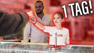 Meine Schwester (12) übernimmt für 1 Tag die Eisdiele! 😳(Sind die Kunden zufrieden?)