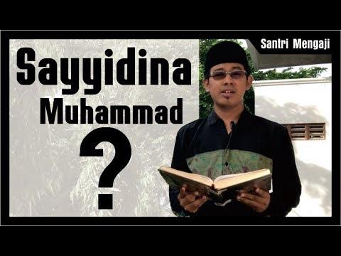 Benarkah Mengucapkan Sayyidina Haram ?