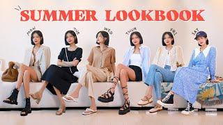 세련미 뿜뿜 여름 패션 룩북 & 필수 기본템 추…