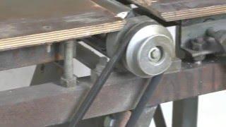 як зробити фугувальний верстат з регулюванням столів