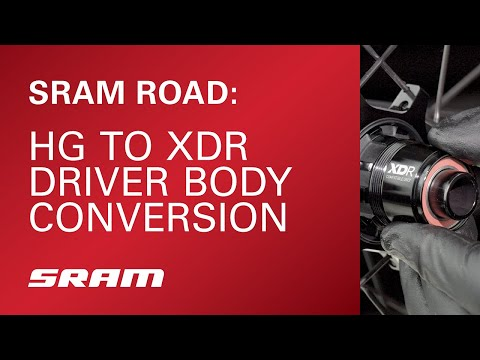 SRAM Road: HG to XDR Driver Body Conversion