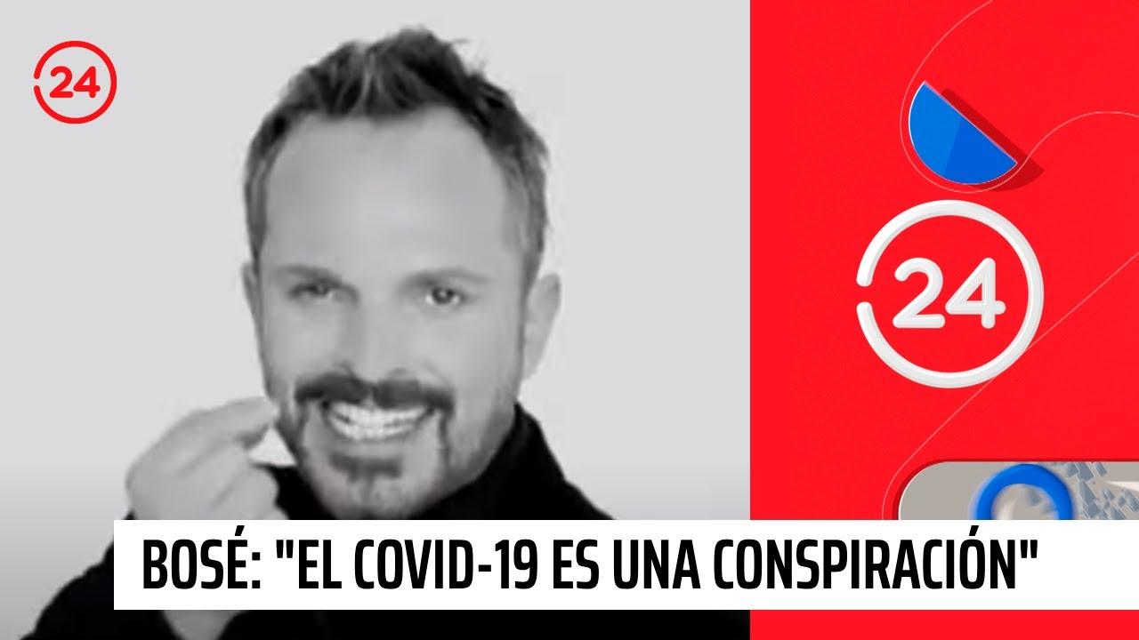 """Nuevo dardo de Miguel Bosé: """"El COVID-19 es una conspiración"""""""