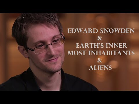 Earth's Inner Most Inhabitants | Edward snowden | Inner Eart