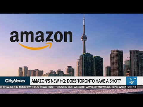 Amazon's new HQ: does Toronto have a shot?