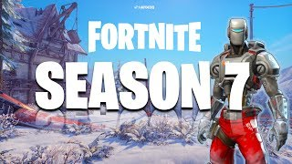 *NEW* SEASON 7 INFO & SECRETS in Fortnite Battle Royale?! - Season 7 LEAKS + Discussion!