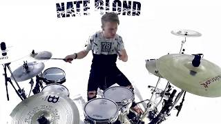 SWEET BUT PSYCHO - Ava Max (DRUM COVER) - Nate Blond Video
