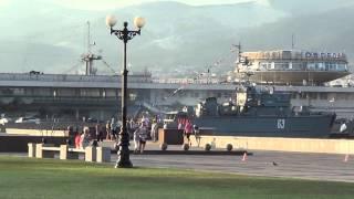 набережная новороссийск кино порт фонтаны