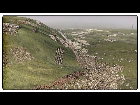 MASSIVE 20,000 SOLDIER DEFENCE - Ancient Empires Total War Mod Gameplay
