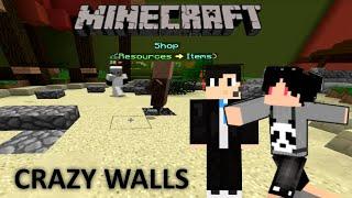 minecraft indonesia   crazy walls 1 yang penting happy w icss
