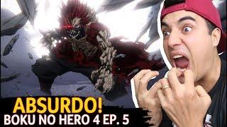 KIRISHIMA ABSURDO! Boku no Hero 4 Ep. 5 - Fred   Anime Whatever
