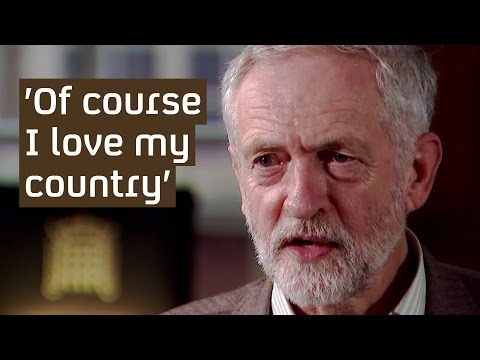 Jeremy Corbyn: 'Of course I love my country'