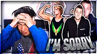 I'm Sorry Logan Paul and Roman Atwood (Emotional) thumbnail
