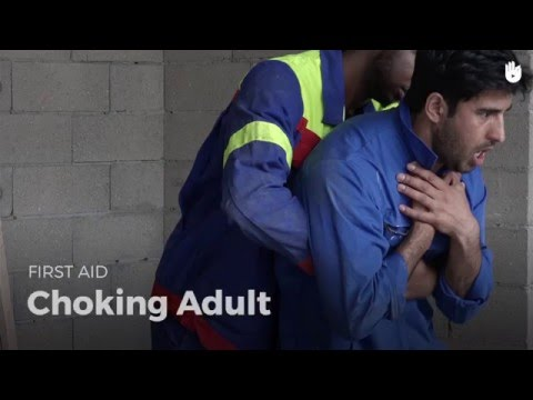 First Aid: choking Adult | First Aid