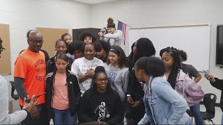 Former WNBA player Lisa Willis visits North Augusta