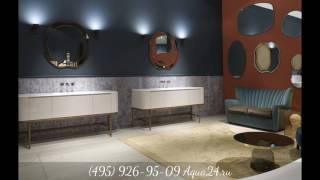 Обзор мебели для ванной комнаты от Aqua24.ru