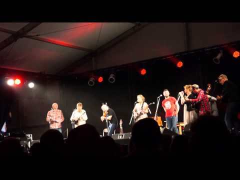 Heidi Talbot and Special Guests perform  Music Tree. Shrewsbury Folk Festival 2013