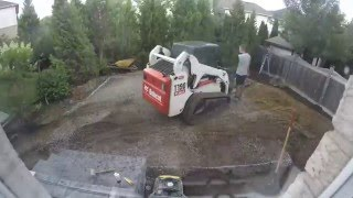 Time Lapse Landscaping Video