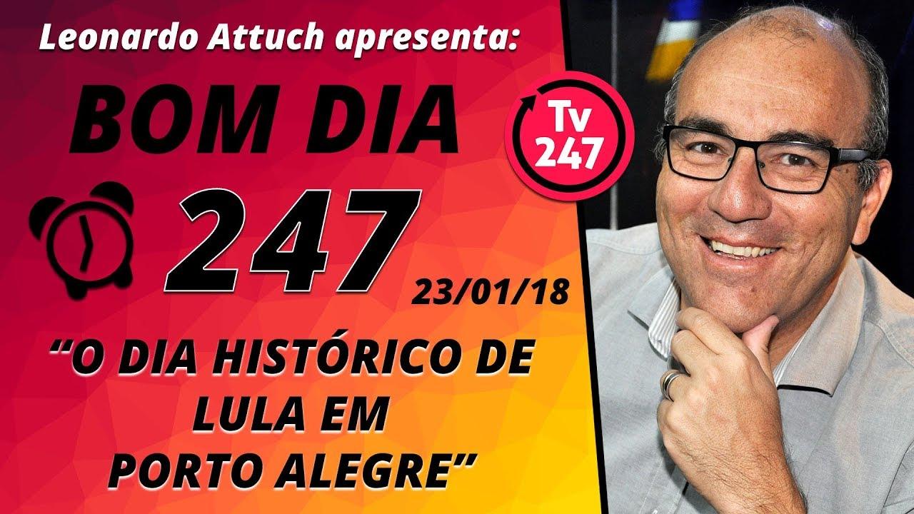 Alegre Bom Dia: O Dia Histórico De Lula Em Porto
