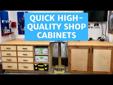 Quick High-Quality Shop Cabinets