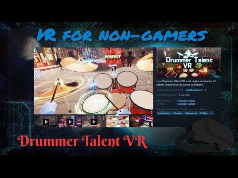 Playing Drums With Drummer Talent VR |