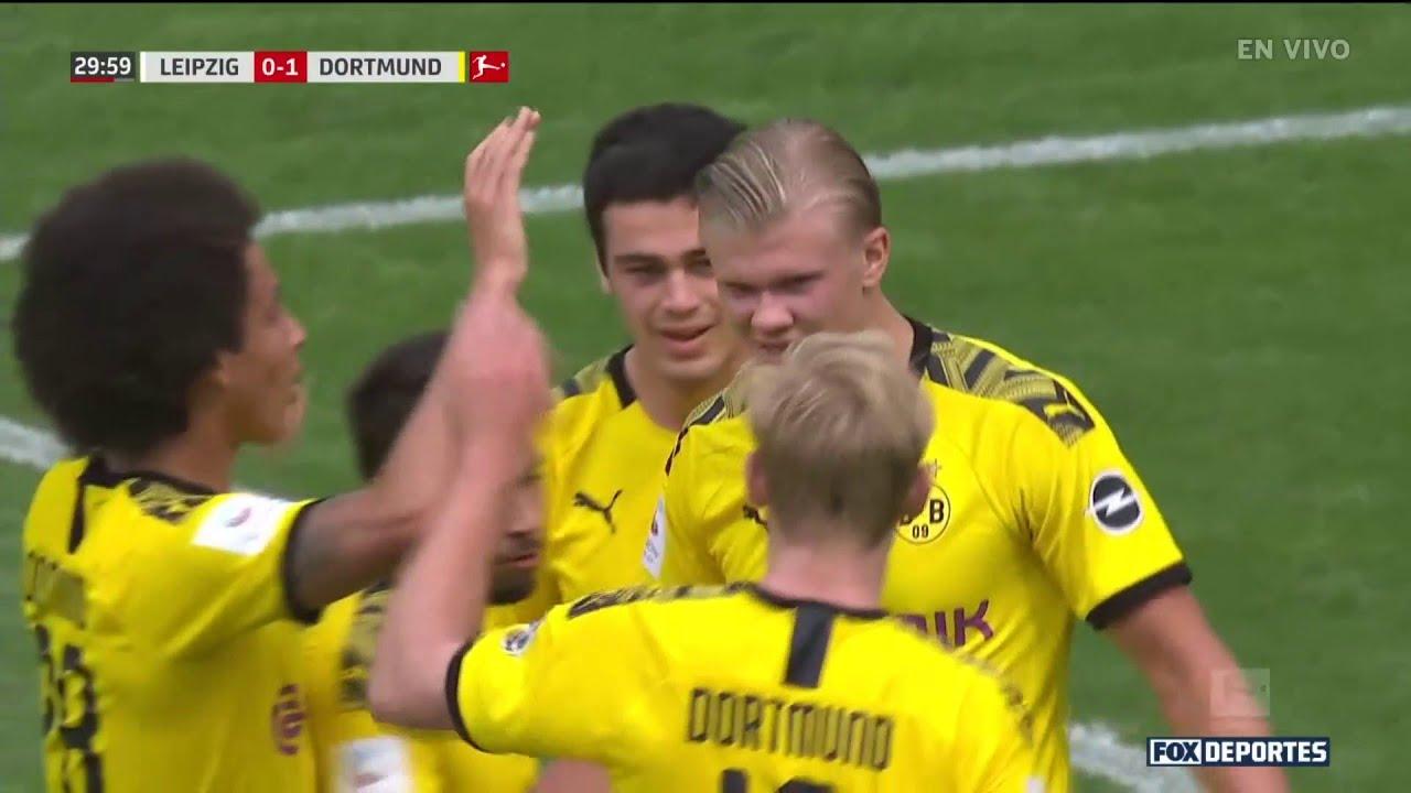 RB Leipzig 0-2 Borussia Dortmund   HIGHLIGHTS   Jornada 33   Bundesliga -  YouTube