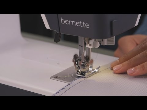 b35 Tutorial – Selecting and sewing stitches (2/7)