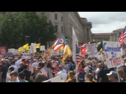 Tea Party March on Washington - March to Capitol Hill