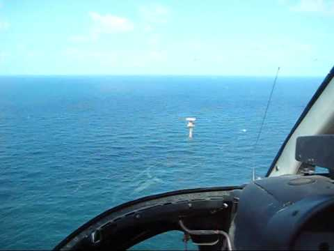 A Pilot's Busy Day in the Gulf of Mexico