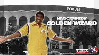 MAGIC JOHNSON GOLDEN WIZARD