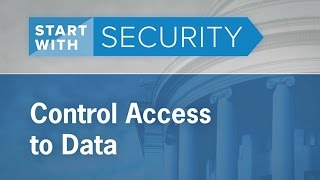 Control Access to Data | Federal Trade Commission