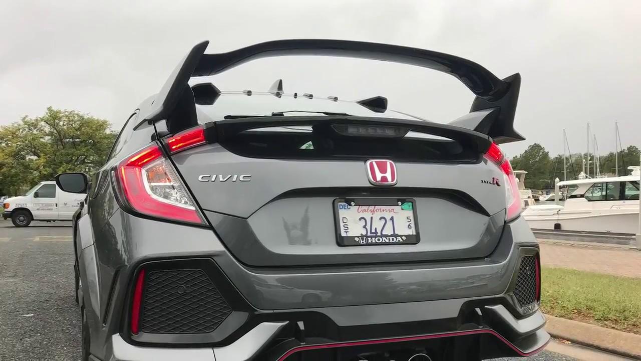 Honda Civic Type R Review - YouTube