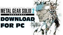 MGS2 SUBSTANCE - PC Download & Tribute