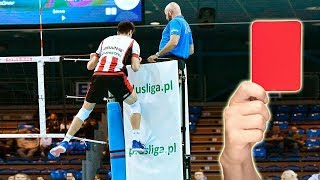 Volleyball Red Cards | Angry Volleyball Moments (HD)