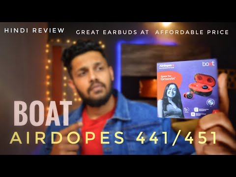 Boat Airdopes 441/451!!😍👍 best earbuds with great look & sound🤩