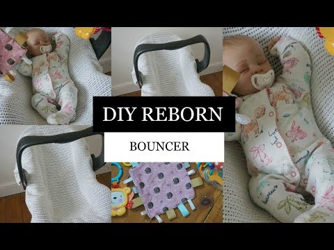 Diy Reborn Baby Bouncer Simply Reborns Youtube