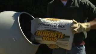 Vintage Quikrete Concrete  Quantity  Slide Chart Calculator