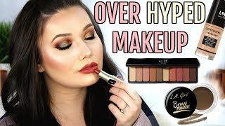 TESTING OVER HYPED MAKEUP | Full Face Tutorial