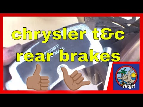 How to replace rear brake pads Chrysler Town & Country √ Fix it Angel