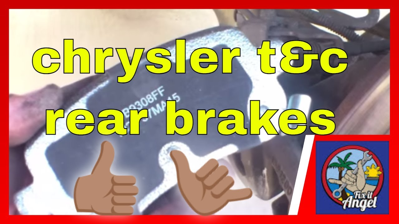 How To Replace Rear Brake Pads Chrysler Town Amp Country