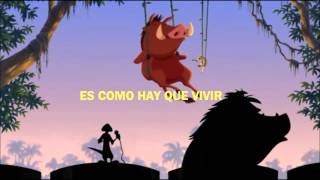 Hakuna Matata- Rey león 3 Latino (con letras)