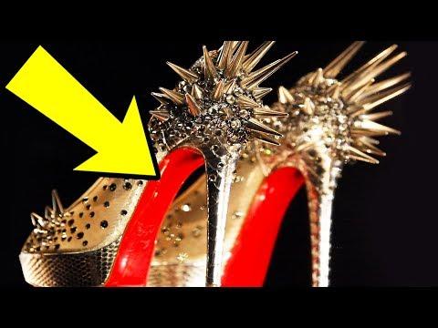 ルブタンの靴が非常に高価で赤い理由