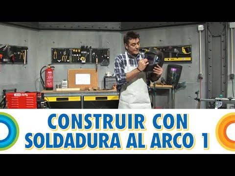 Construir banco con soldadura al arco (1 de 5)   bricocrack   youtube