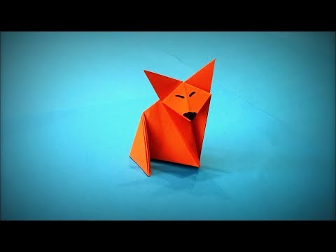 How to Make a Paper Fox DIY - Easy Origami Step by Step