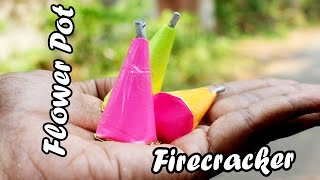 How to Make Mini Flower Pot Firecracker( Christmas Special)- Flopcloud