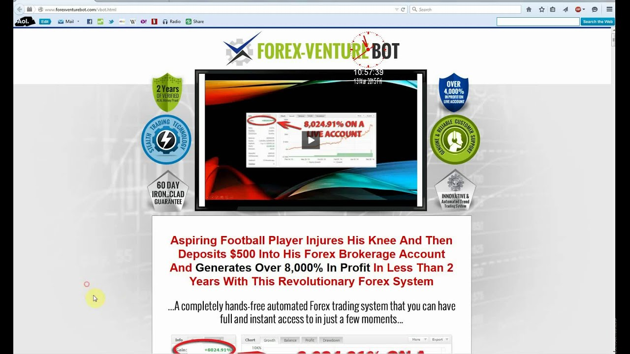 Forex venture bot ea