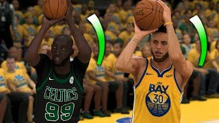 NBA 2K20 Tacko Fall My Career - In-Game 3 Point Contest vs Steph Curry!